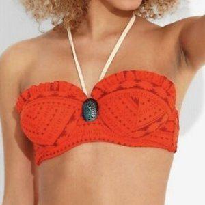 Disney Moana Heart of Te Fiti Swim Bikini Top L